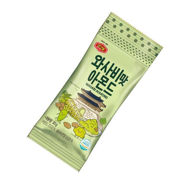 韓國 Murgerbon 火爆強檔 親友激推 必買現貨 芥末味杏仁果-單裝包(30g)