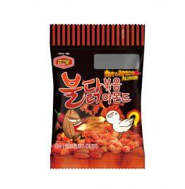 韓國 Murgerbon 火爆強檔 親友激推 必買現貨 辣雞味炒杏仁果-單裝包(30g)