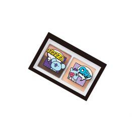 VT ART 3色眼影盤 - 02 玫瑰棕
