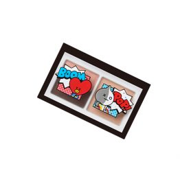 VT ART 3色眼影盤 03 雪玫瑰
